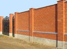 кирпичный забор - kirpichnyiy-zabor